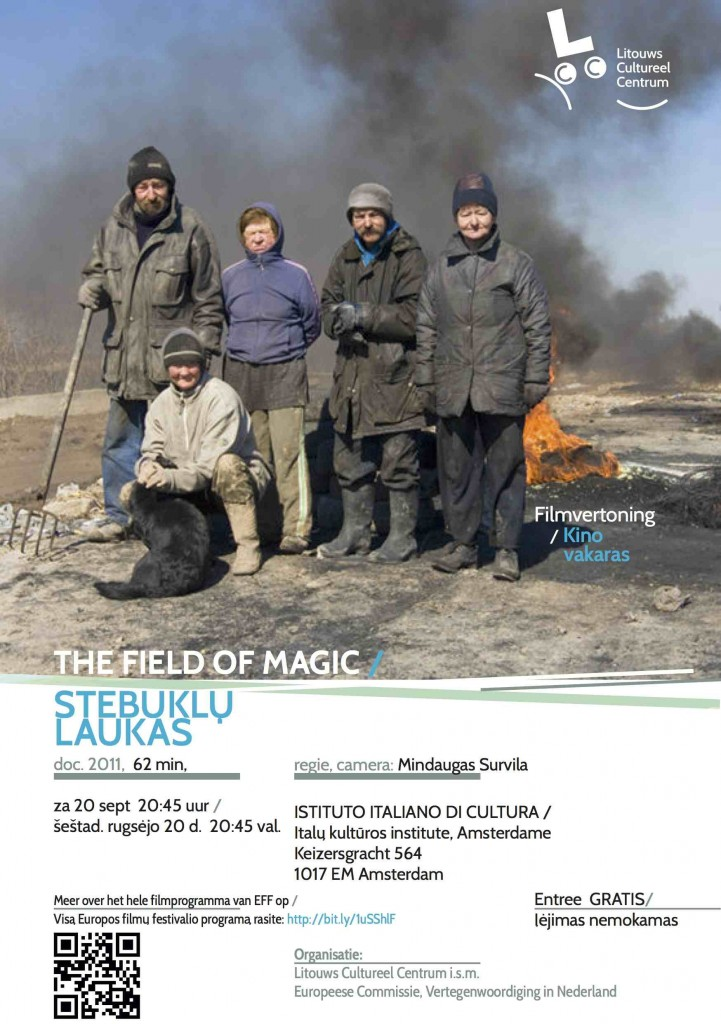 The Field of Magic, Lithuanian film in IFF -2014